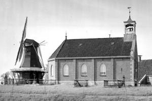 De hervormde kerk van Eppenhuizen, de eerste gemeente van ds. H. de Cock