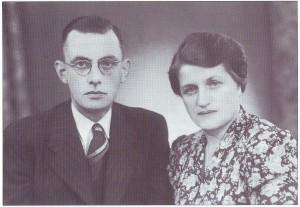 Ds. en mevrouw Van Wouwe.