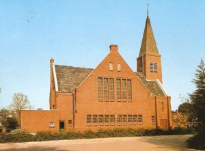 De nieuwe gereformeerde kerk die eind 1926 in gebruik genomen werd.