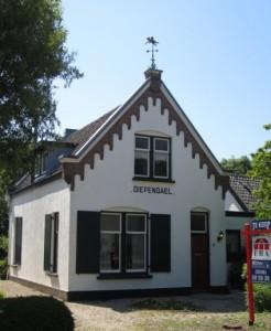 Het eerste gereformeerde kerkje in Zuilen.