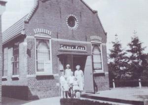 Het evangelisatiegebouwtje te Ruinen.