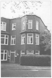 H.W. Mesdagplein 15, het laatste onderkomen van de Ds. Th. Dellemanstichting (foto Jan C. Venhuis, met toestemming overgenomen voor het gedenkboek van de ds. Th. Dellemanstichting).