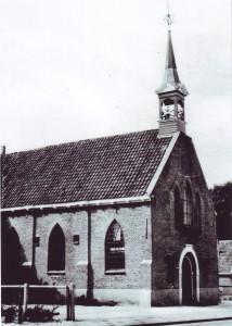 De oude gereformeerde kerk te Diever.