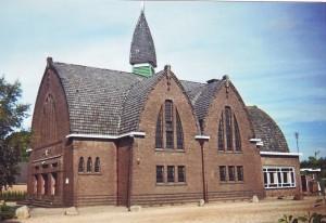 De gereformeerde kerk te Nieuw-Amsterdam