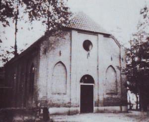 De oude gereformeerde kerk te Sleen.