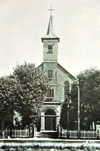 De oude gereformeerde kerk van Smilde.