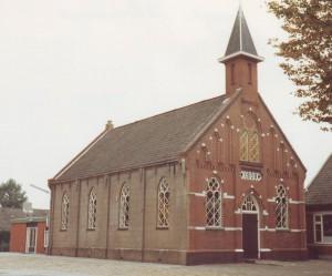 De gereformeerde kerk t Tweede Exloermond.