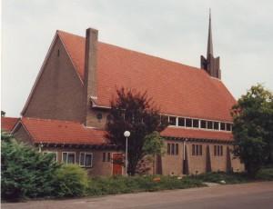 De gereformeerde kerk te Zuidlaren.