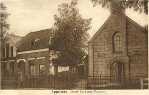 De oude gereformeerde kerk aan de Vaart Zz (1841-1956).