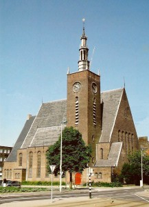 Oktober Rotterdam Breepleinkerk foto