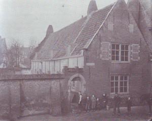 De kerk aan de Peperdijk (1890-1899).