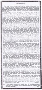 Dit 'In Memoriam' verscheen op de vorpagina van 'De Wekker' van 14 december 1894.