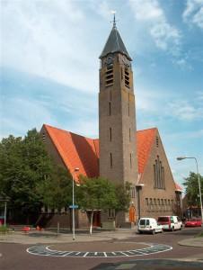 De gereformeerde Westerkerk te Kampen.