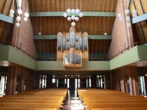 Het interieur van de Kruiskerk (foto: Reliwiki).