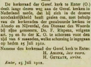 De Heraut, 4 augustus 1912.