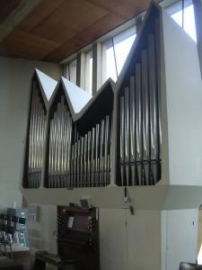 Het orgel van de Fonteinkerk (foto: Reliwiki).
