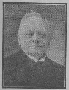 Ds. J. Hartwigsen (1862-1949), de eerste 'dolerende' predikant van Berlikum.