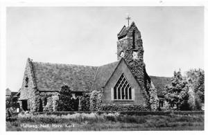 De protestantse 'Kleine Kerk'.