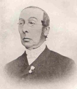 Ds. J.W. Felix (1824-1904).