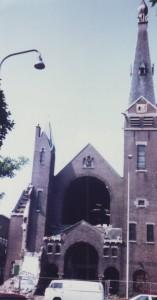 De Westerkerk werd afgebroken (eigen foto).