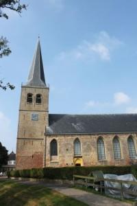 De hervormde kerk te Oosterbierum.