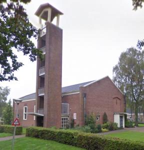 De voormalig gereformeerde kerk van Schoonebeek.