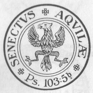 Het kerkzegel van Tiel, (met opzet) identiek aan dat van de hervormde gemeente.
