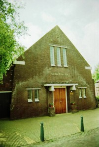 De gereformeerde kerk te Visvliet (foto: Reliwiki).
