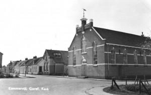 De in 1913 in gebruik genomen gereformeerde kerk te Kommerzijl.