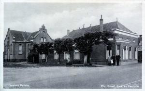 De christelijke gereformeerde kerk in Nieuwe Pekela.