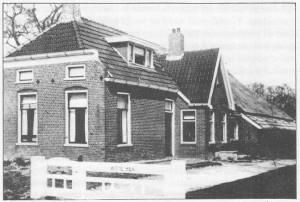 't Witte Hek, waar de kerk van Zuidhorn-Enumatil door ds. H. de Cock geïnstitueerd werd.