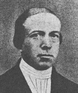 Ds. W.U. Bakker (1824-1887).