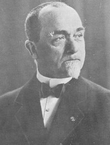 Ds. W. Breukelaar (1865-1940) van Zaandam.