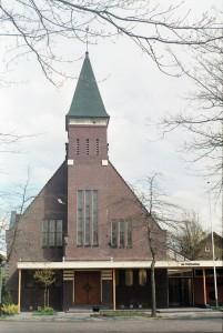 De verbouwde gereformeerde kerk van Koog-Zaandijk.