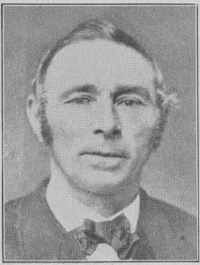 J. Gezon, scriba van de eerste Classis van de Christian Reformed Church.