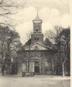 De hervormde Schildkerk te Rijssen.