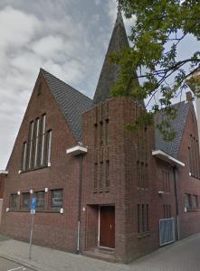 De gereformeerde kerk aan de Boomkamp.