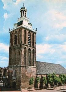 De hervormde kerk te Meppel.