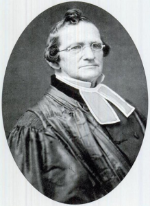 Ds. Isaac Newton Wyckoff, een steun en toeverlaat voor veel emigranten uit Nederland.