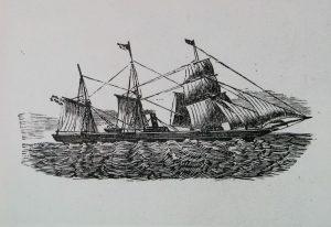 Per zeilschip naar Amerika...