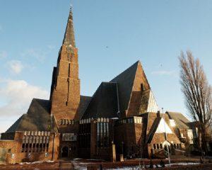 De monumentale gerformeerde kerk van Andijk.