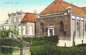 Het in 1861 in gebruik genomen gereformeerde kerkje te Blija (nu Blije).
