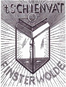 Het logo van 't Schienvat.