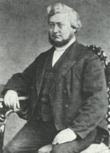 DEs. J.J.A. Ploos van Amstel kwam van Reistsum naar Groningen om de 'eerste dienst' in de Zuiderkerk te leiden.