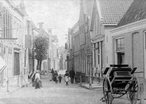 De Grote Kerkstraat te Meppel.