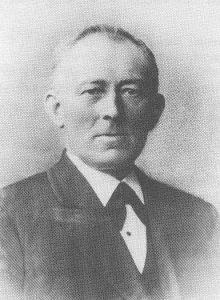 Ds. J. Offringa (1847-1928) van Dedemsvaart.