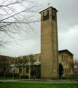 De voormalige gereformeerde Immanuelkerk te Rotterdam-Zuid.
