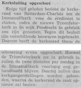 Centraal Weekblad, 3 maart 1962.