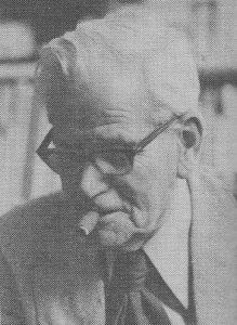 Ds. C. Jansen (), de eerste predikant van It Heidenskip.