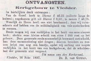 Uit: 'Het Kerkblad', 25 februari 1898.